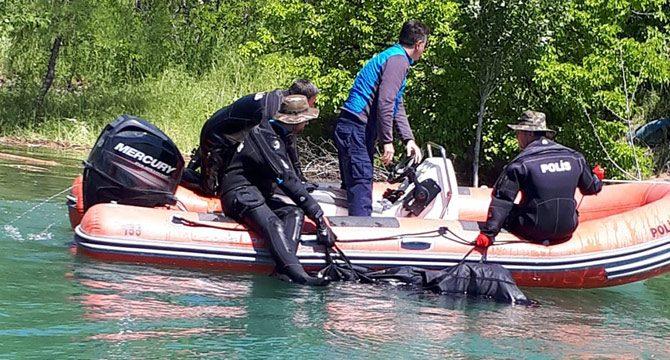 Abdulkadir'in, baraj gölünde cesedi bulundu