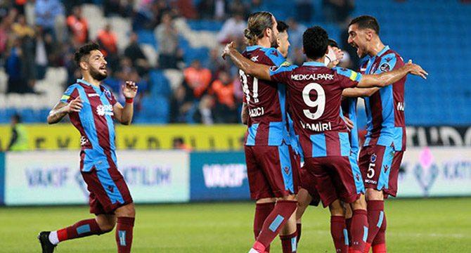 Trabzonspor, Kayserispor'u 4-2 mağlup etti