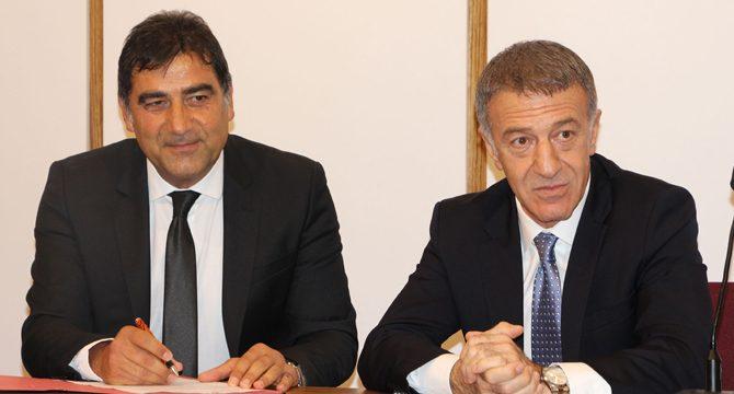 Trabzonspor, Ünal Karaman ile 2 yıllık sözleşme imzaladı