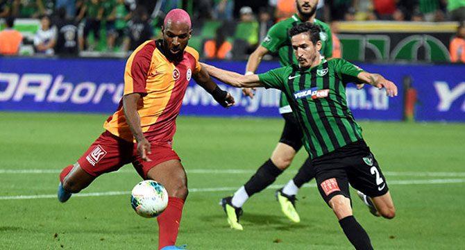 Galatasaray Süper Lig'in ilk haftasında mağlup