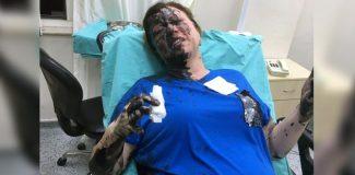 İş kadınının üzerine siyah sıvı döktüğü iddia edilen kafe sahibi itiraz üzerine tutuklandı