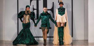 Türk modacı Londra´da kadın ve doğa koleksiyonuyla beğeni topladı