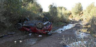 Sivas'ta otomobil dereye uçtu: 2 ölü, 6 yaralı