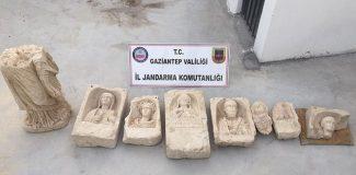 Gaziantep'te tarihi eser operasyonu: 4 gözaltı