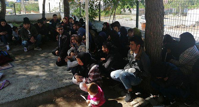 Çanakkale´de 190 kaçak göçmen yakalandı
