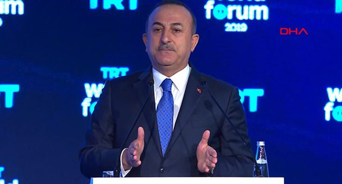 Çavuşoğlu: Terör örgütünü destekleyen ülkelerin amacı, Suriye'yi bölmek, orada terör devleti oluşturmaktı