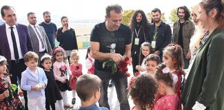 Haluk Levent'ten, Emine Bulut'un kızına ziyaret