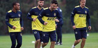 Fenerbahçe'de Emre ve Kruse antrenmana çıktı