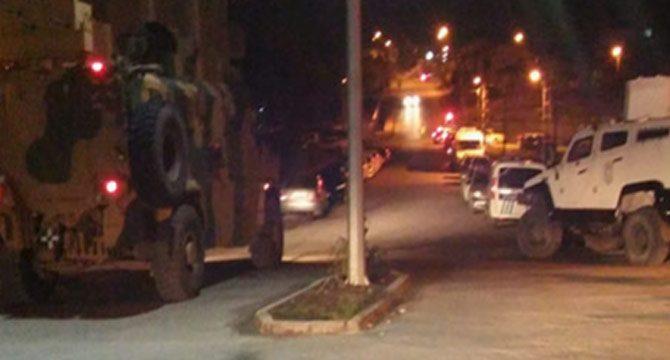 Kağızman'da askeri aracın geçişi sırasında patlama