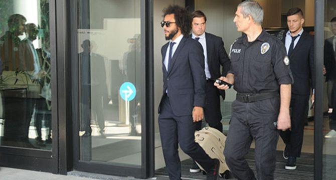 Real Madrid, İstanbul'a geldi