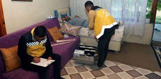 Van'da 740 kişiye evde sağlık hizmeti