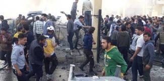 El Bab'da bomba yüklü araçlı saldırı: 11 ölü