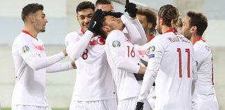 A Milli Takım, Andorra'yı 2-0 mağlup ederek grubu ikinci sırada noktaladı!