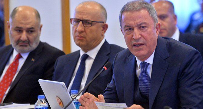 Bakan Akar: Barış Pınarı Harekâtında 1168 terörist etkisiz hale getirildi
