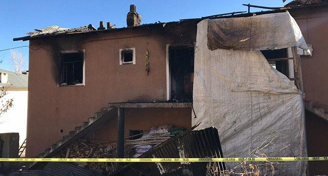 Bayburt'ta yangın: Hala ve 2 yeğeni öldü, 1 yaralı