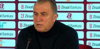 Fatih Terim: Futbolcularım keşke şanslarını değerlendirseydi