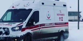 Drift yapılan ambulansla ilgili soruşturma başlatıldı