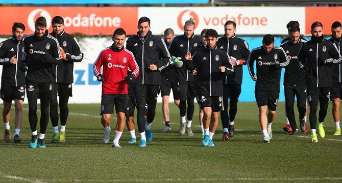 Beşiktaş kupa sınavına hazır