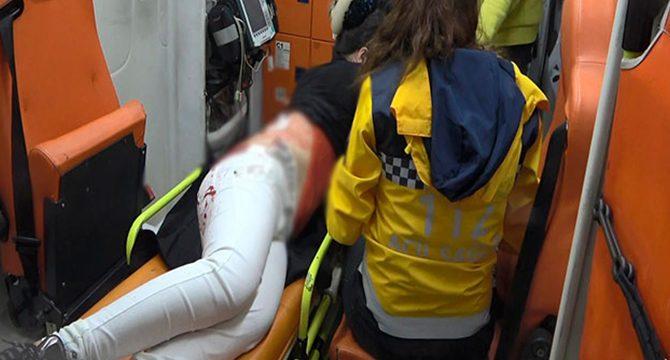 Esenyurt'ta gasp dehşeti: Genç kızı bıçaklayarak gasp etti