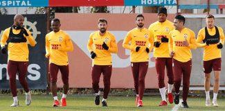 Galatasaray, Yukatel Denizlispor maçı hazırlıklarına başladı