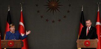 Cumhurbaşkanı Erdoğan ve Merkel ortak basın toplantısı düzenledi