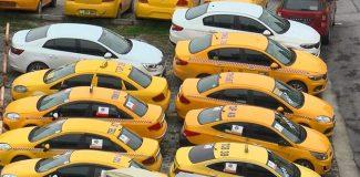 """İstanbul'da """"taksi plakası"""" borsası; 2 milyon lirayı geçti"""
