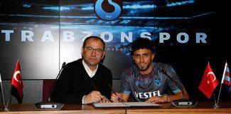 Trabzonspor'da Bilal Başacıkoğlu için imza töreni düzenlendi