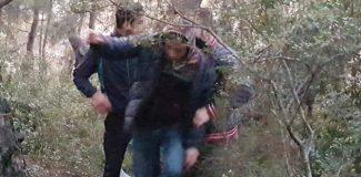 Antalya'da, çakmak gazı koklayan çocuklar baygın bulundu