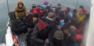 Çanakkale'de 38 kaçak göçmen yakalandı