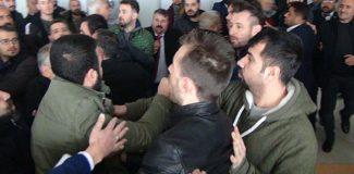 Şanlıurfa'da CHP kongresinde arbede çıktı