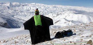 Yarasa adam Cengiz Koçak'tan Erzincan'da çılgın atlayış