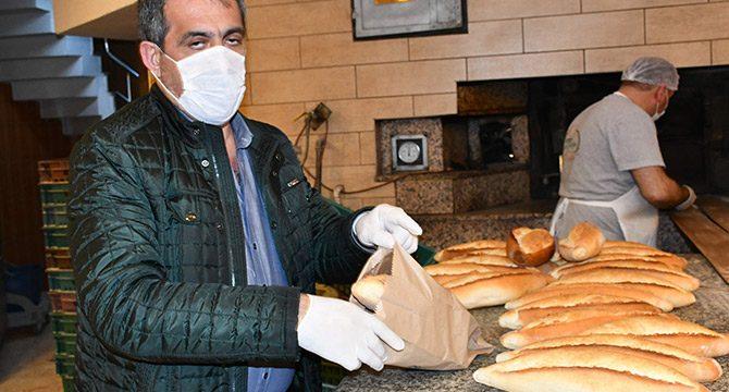 Koronavirüs tedbirleri kapsamında, fırınlar ekmekleri ambalajlı satacak