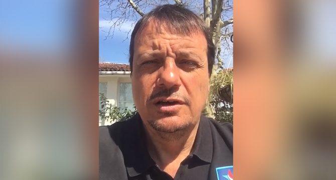 Ergin Ataman'dan Fenerbahçe'ye destek mesajı