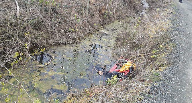 Kayıp olarak aranırken, sulama kanalında ölü bulundu