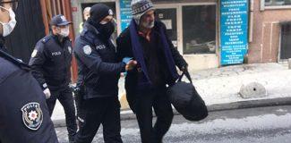 Beyoğlu'nda koronavirüs şüphelisi işçi hastaneden kaçıp çalıştığı inşaata geldi