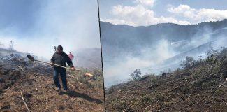 Burdur'da orman yangını: 50 hektar zarar gördü