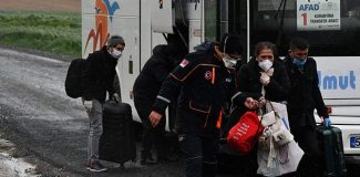 Çorlu'da karantina süreleri dolan 175 kişi evlerine gönderildi