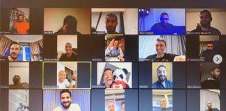 Terim, futbolcularla video konferans üzerinden görüştü