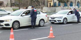 Silivri'de giriş çıkış önlemleri… İzinsiz araçlar geri çevriliyor