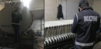 Bursa'da kaçak akaryakıt operasyonu: 2 bin litre mazot ele geçirildi