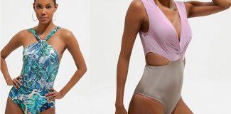 2020 bikini ve mayo modelleri; tropikal renkler, çizgili tasarımlar öne çıkıyor