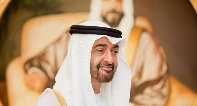 Veliaht Prensi bin Zayed, 25 yıldır Tel Aviv ile çalışıyor ...