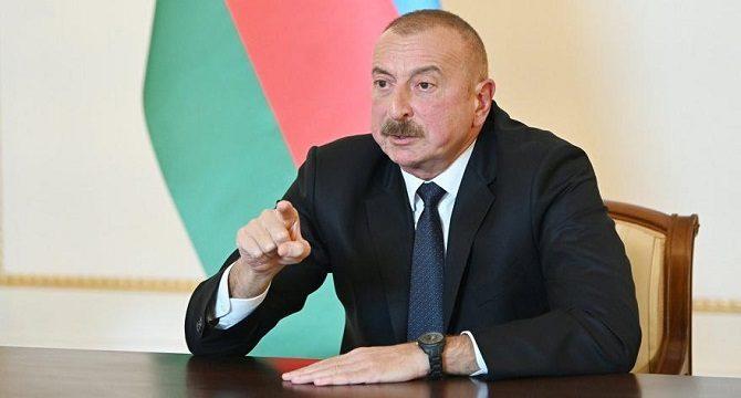 Aliyev Twitter'dan duyurdu! O bölgeler işgalden kurtarıldı!